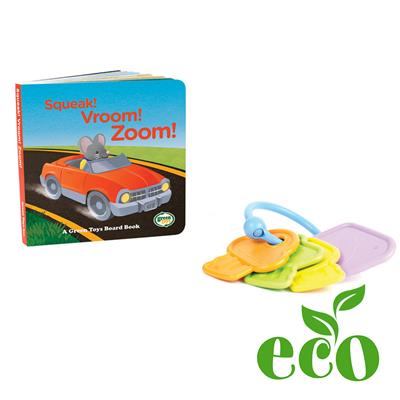 Green Toys First Keys and Board Book