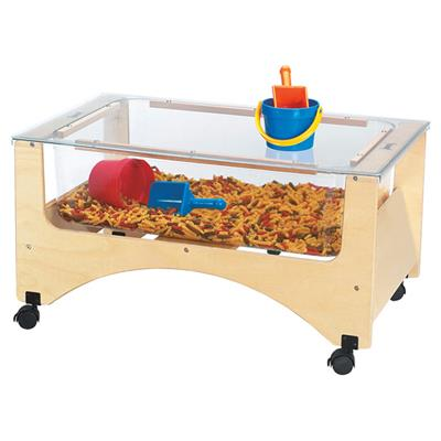 See Thru Toddler Sensory Table