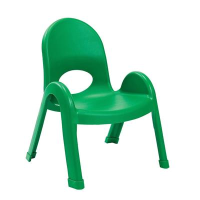 "Value Stack Chair, 9"" Seat Height, Green"