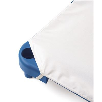 Value Line Cot Sheet, Standard, White