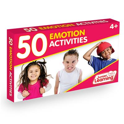 Emotion Activity Cards, Set of 50