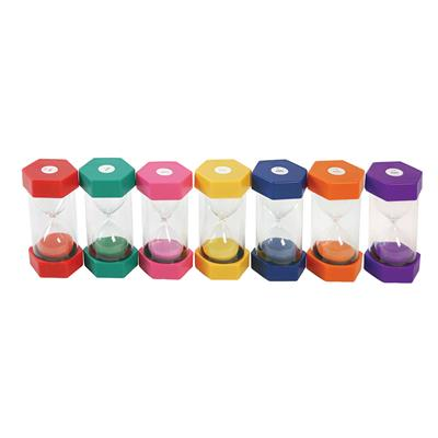 Sand Timers, Assorted, Set of 7