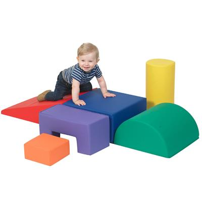 Climb and Play Set, 6 Pieces