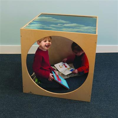 Acrylic Top Play House Cube