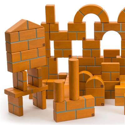 Unit Bricks, 100 Pieces