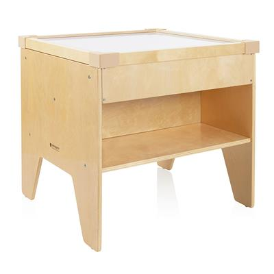"Light Table with Shelf, 24"" High"
