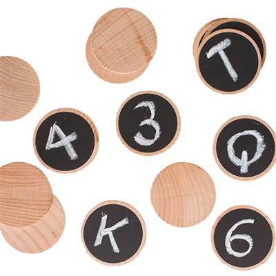 Create n' Play Wooden Discs, 20 Pieces