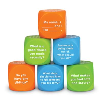 Let's Talk Cubes, Set of 6