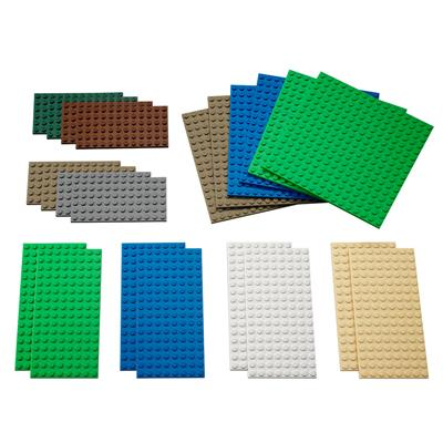 LEGO Building Plates, Small, 22 Pieces