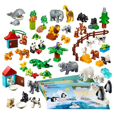 LEGO DUPLO Animals, 91 Pieces