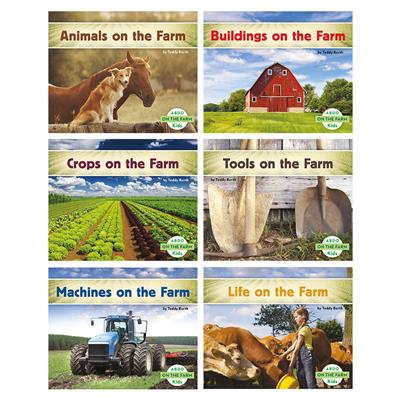 On The Farm Book Set