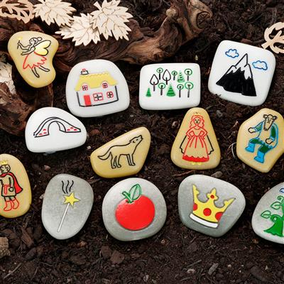 Story Stones, Fairy Tales, 13 Pieces