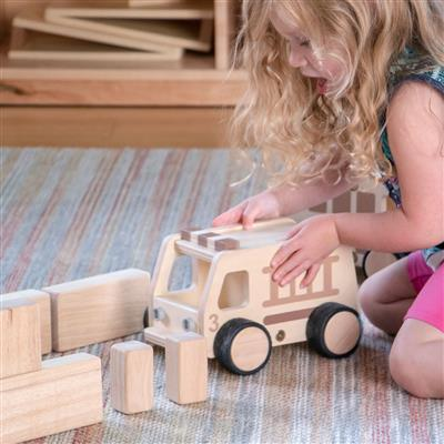 Wooden Vehicles, Set of 3