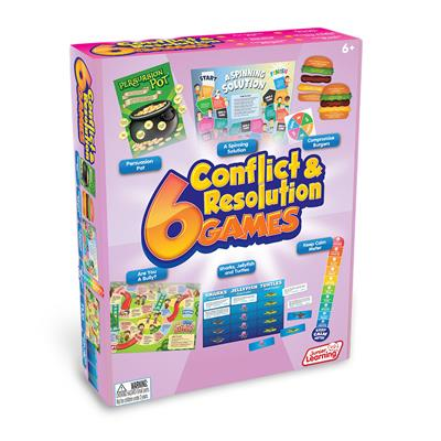 Conflict Resolution Games, Set of 6
