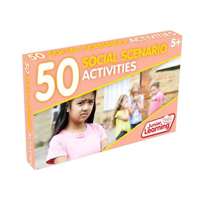 Social Scenario Activities, Set of 50