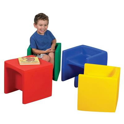 Educube, Primary Colours, Set of 4