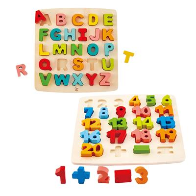 Let's Learn Chunky Puzzles, Set of 2