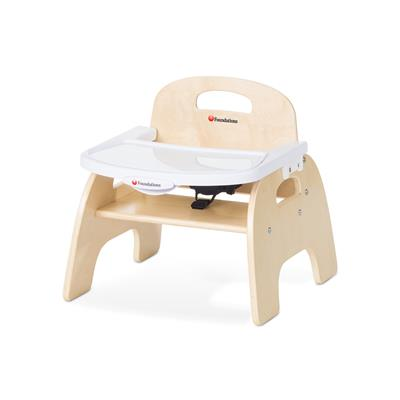 "Easy Serve Feeding Chair, 7"" Seat Height, Birch"