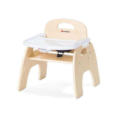 "Easy Serve Feeding Chair, 9"" Seat Height, Birch"