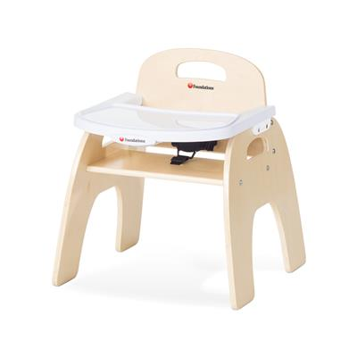 "Easy Serve Feeding Chair, 11"" Seat Height, Birch"