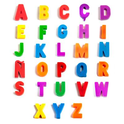 Magnetic Letters, Uppercase, 154 Pieces