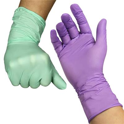 Craft Gloves for Adults, Nitrile, 100 Pieces