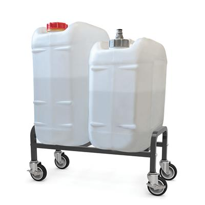 Portable Sink Tank Kit With Dolly