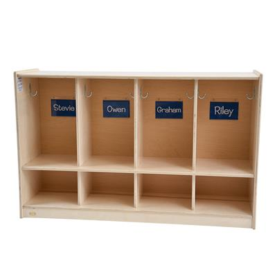 Toddler 4-Section Locker