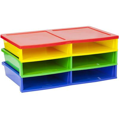 Quick Stack Literature Sorter, 6 Compartments
