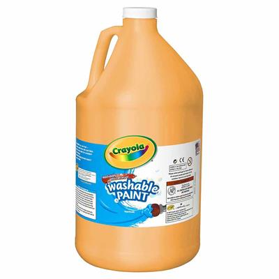 Crayola Washable Tempera Paint, 3.8 L, Peach