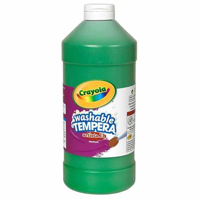 Crayola Washable Tempera Paint, 946 ml, Green