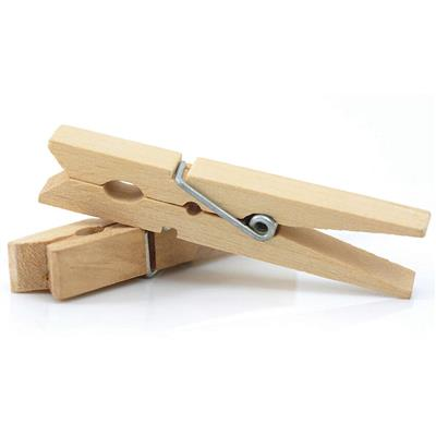 "Sping Clothespins, 1-3/4"" Long, Natural, 24 Pieces"