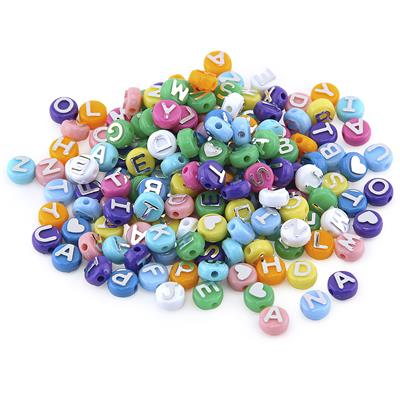 ABC Beads, Assorted, 300 Pieces