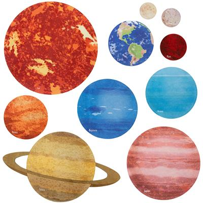 Our Solar System Mats, Set of 10