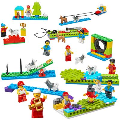 LEGO Education BricQ Motion Essential Set, 523 Pieces