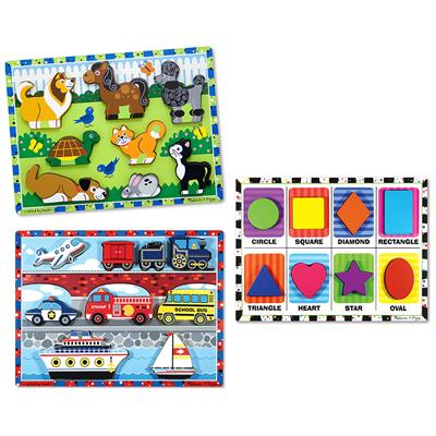 Chunky Puzzles Set 1, Set of 3