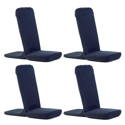 Raylax Chair, Navy, Set of 4