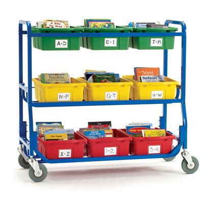 Mobile Library, 9 Divided Tubs