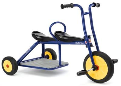 Atlantic Double Tricycle, Blue
