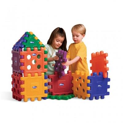 Giant Grid Blocks, Set of 32