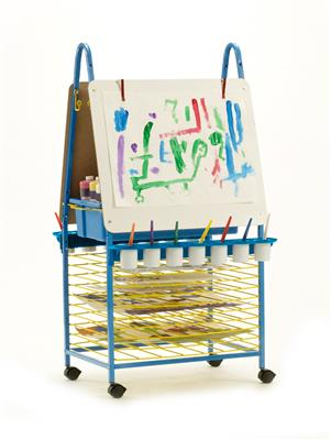 Double-Sided Mobile Art Easel