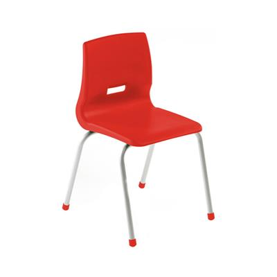 "Kudos Chair, 12"" Seat Height, Red"