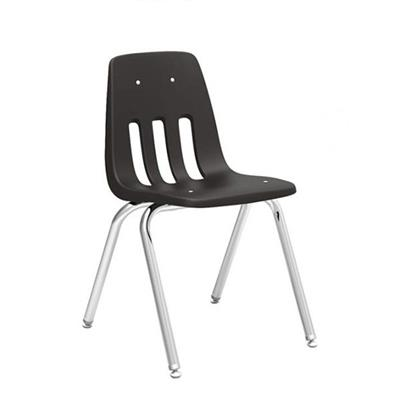 "Classroom Chair, 18"" Seat Height, Chocolate"