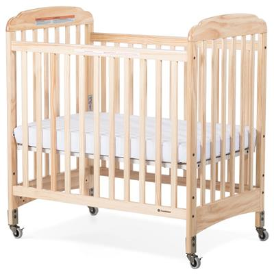 Next Gen Serenity Fixed Slatted Crib, Mobile Compact, Natural