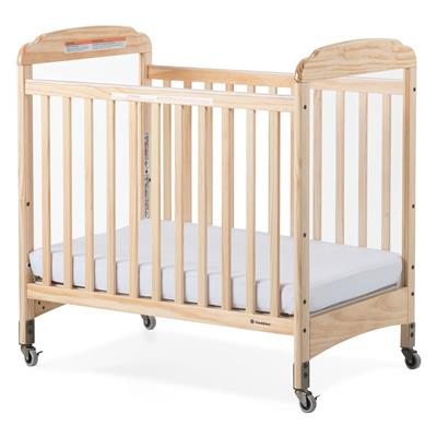 Next Gen Serenity Fixed Clearview Mobile Crib, Compact, Natural