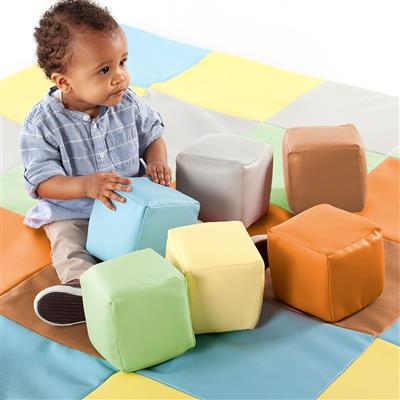 Toddler Blocks, Contemporary, Set of 12