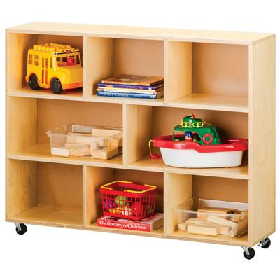 Multipurpose Mobile Storage, Birch