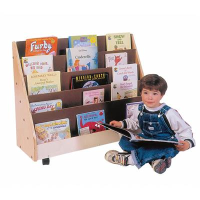 Mobile Primary Book Rack