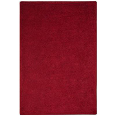 "Endurance Rug, 7'6"" x 12', Rectangle, Burgundy"