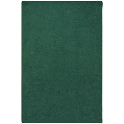 "Endurance Rug, 7'6"" x 12', Rectangle, Forest Green"